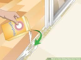 image titled clean sliding glass door tracks step 8