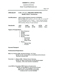 Welder Resume Examples Magnificent Best Ideas Of Certified Welding Inspector Resume Awesome Welder