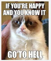 grumpy cat good smile. Brilliant Good If She Wins The Golden Kitty Award Will Grumpy Cat FINALLY Smile Itu0027s  Highly Doubtful But Thatu0027s Not Stopping Her Fans From Making Frontrunner  And Good Smile