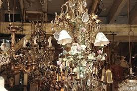 vintage chandeliers flea market by such pretty things paris chandelier visual comfort