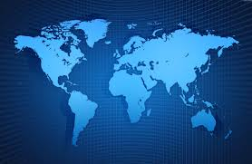 Map Of The World Background World Map Background Psdgraphics