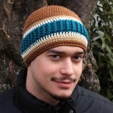 Mens Crochet Beanie Pattern Beauteous Just For Men Beanie AllFreeCrochet
