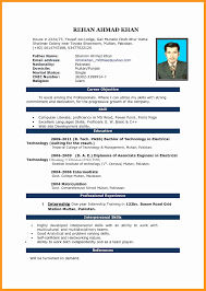 50 Fresh Resume Format Download Doc File Simple Resume Format