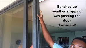 tiptop patio door weatherstripping sliding patio door weatherstripping saudireiki