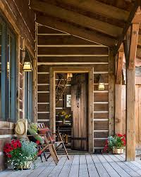 an elegantly rustic cabin in steamboat