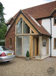 contemporary porch lights uk. hand crafted oak timber framed glazed porch entrance by carpenter ltd devon contemporary lights uk