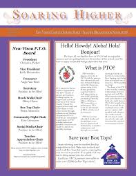 Soaring Higher Newsletter First Edition New Vision Charter