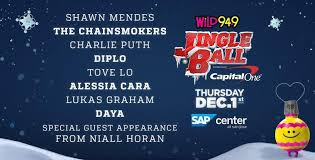 Wild 94 9 Jingle Ball Presented By Capital One Sap Center