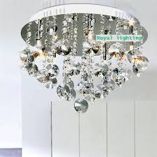 luxury crystal ceiling lamp star light bathroom crystal lighting european bedroom dining room ceiling lighting