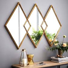 diy vinyl gold studded mirror home decor mirror image home decor