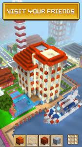 block craft 3d city building on the app