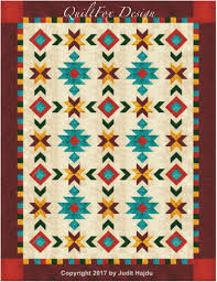 Quilt Patterns Southwest Designs Southwest Inspired Full Queen Size Quilt Pattern 76 In