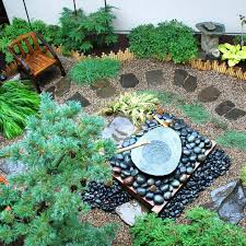 Small Picture Small Japanese Garden Design Ideas With Small Fountain Garden