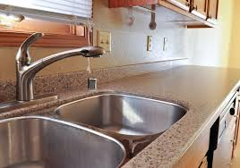 countertop with integrated sink years tile countertops with backsplash