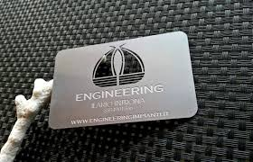 Steel Business Cards Metal Business Cards Steel Business Cards Aisi 301 Cool Business