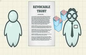 Living Trust Form Inspiration Revocable Trust