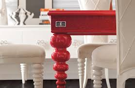 Amazing Picture Of Dining Room Decoration Using Unusual Dining Chairs :  Fetching Modern Red And White ...