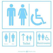 bathroom sign vector. Free Printable Bathroom Signs Lady Sign Ladies Restroom Vector Download . U