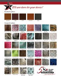 new wear leather chart felt colors 2017 1