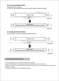 t8 led light bar wiring diagram fluorescent dimmer switch wiring wiring 25 pack t8 led tube light 8ft 45w single pin fa8 base