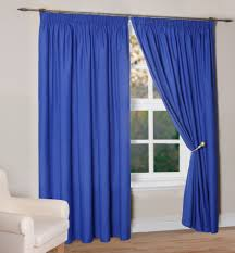 Light Blue Curtains Living Room Light Blue Woven Curtain On Silver Polished Iron Rod Combination