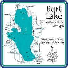 Burt Lake In 2019 Indian River Michigan Cheboygan