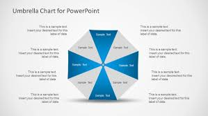 Free Umbrella Chart Template Umbrella Chart Diagram For Powerpoint