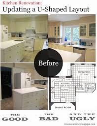 Renaissance Daze Kitchen Renovation Updating A UShaped Layout - Planning a kitchen remodel