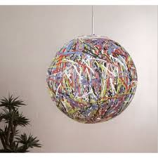 reload italian designer multi coloured globe pendant light