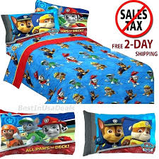 spongebob bed sheets bed set toddler twin size sheets boys paw patrol rescue with pillowcase bedding spongebob squarepants bed linen