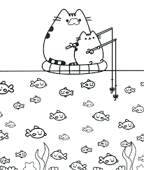 Pusheen Coloring Pages Free Printables Pusheen Coloring Pages