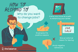 Explain Why You Should Be Considered For The Position Interview Questions About Why You Want To Change Jobs