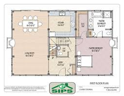Open Floor House Plans Stunning Plan Ja Flexible Country Cottage  Contemporary Open House Plans
