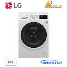 Máy giặt sấy LG Inverter 8 kg FC1408D4W | Giá rẻ nhất tại Hùng Anh