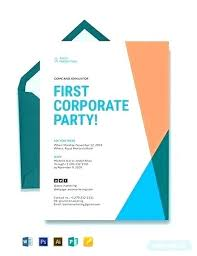 Event Invitations Templates Free Corporate Event Invitation Template