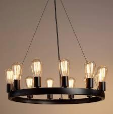 wonderful round black chandelier lacey 30 inch wide round black chandelier look for less