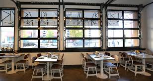 glass garage doors restaurant. Fine Restaurant Throughout Glass Garage Doors Restaurant 2