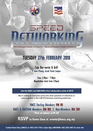 Bmcc Amcham Speed Networking British Malaysian Chamber Of