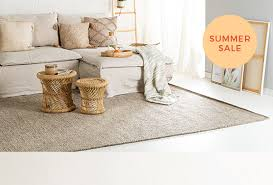 rugs made of natural fibres