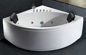 eago modern double seat corner whirlpool spa