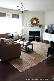 pottery barn jute rug in stylish home decor
