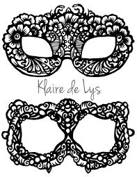 Face Masks Templates Httpklairedelyswpcontentuploads2424LaceMaskTemplate 15