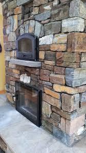dry stack cabinet gorge masonry heater brings symmetrical striking design