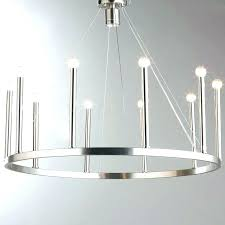 contemporary brushed nickel chandelier modern home improvement s lighting