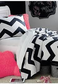 Home Accents Black White Chevron quilt at Belk