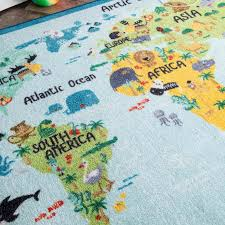 top world map area rug 12