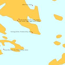 Tide Chart Rockland Maine Naskeag Harbor Penobscot Bay Maine Tide Chart