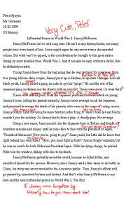 essay jimmy mcperson funny exam answers funny tab essay jimmy mcperson acirc