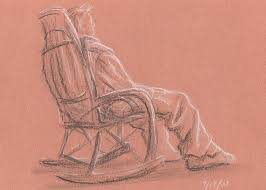 rocking chair drawing. Brilliant Drawing Figure Drawing  Rocking Chair By Jeffrey Oleniacz For E