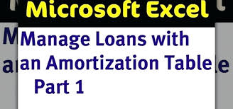New Mortgage Amortization Spreadsheet Loan Calculator In Excel My